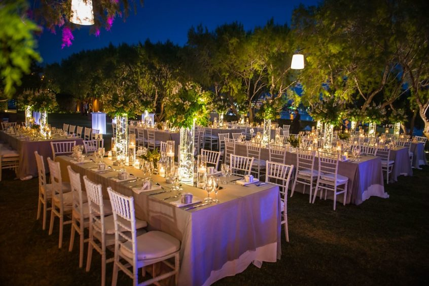 InterCatering Greek wedding catering service for a wedding in Greece