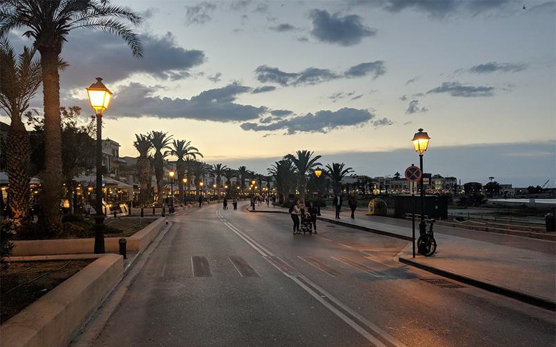 View Street of Crete