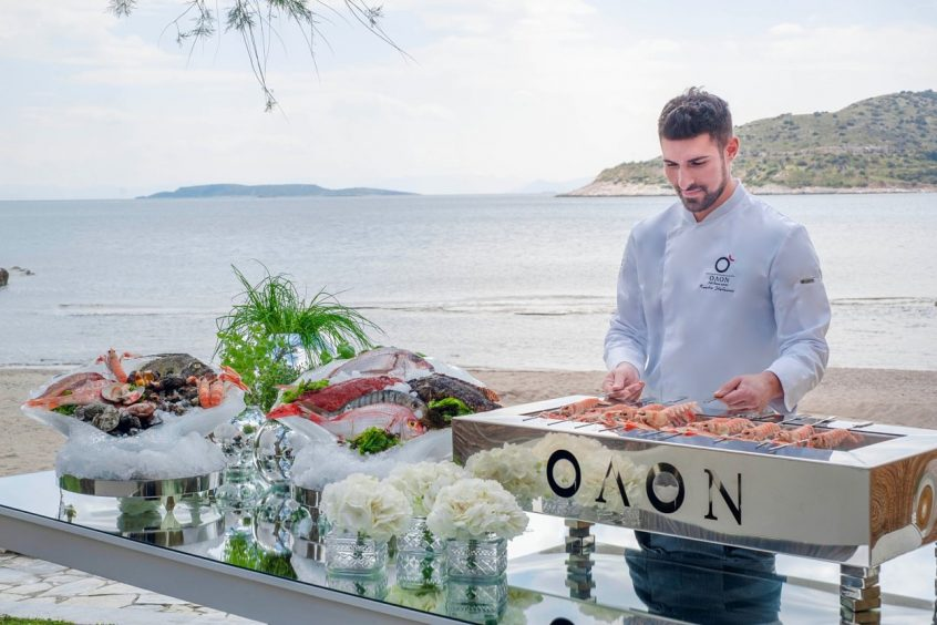 Olon odos kassandras wedding catering in greece