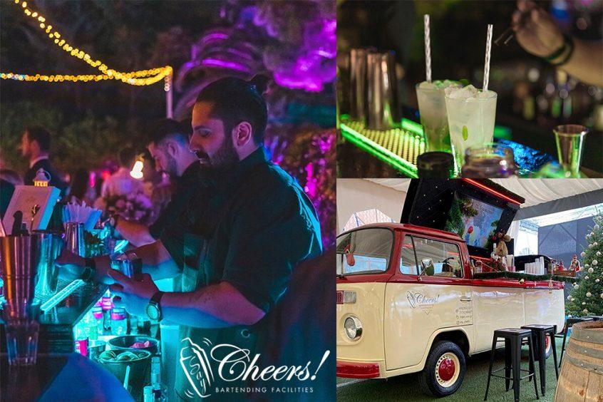Say cheers! Greek bar management company